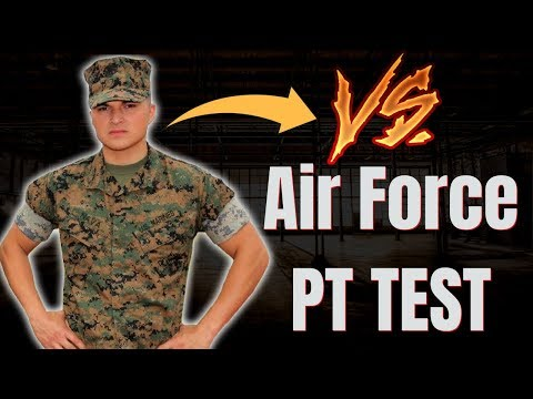 photo air force pt test