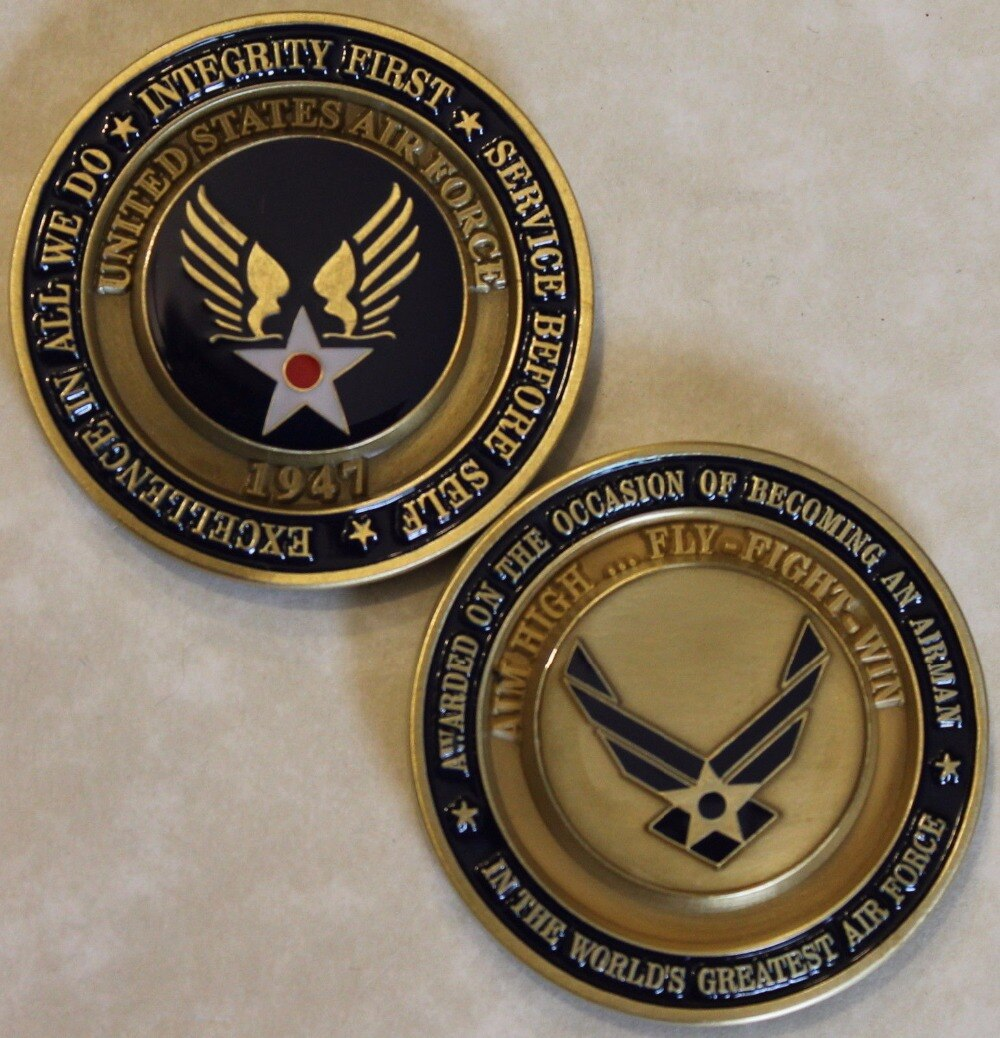 air force honor graduate coin