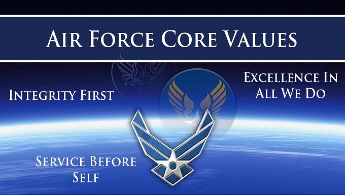 photo Air Force Core Values