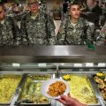 photo air force basic training food