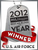 Milbloggies2012 WINNER USAirForce